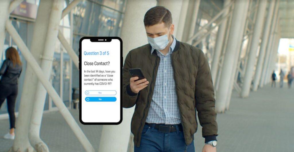 Covid 19 Employee screening app